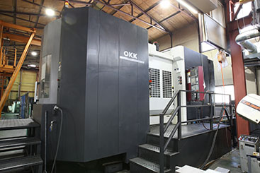 OKK 横中ぐりマシニングセンター  HM1000Sパレットチェンジャー付