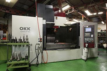 OKK 立型マシニングセンター  VM7Ⅲ
